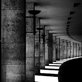 by Eva Nyegaard - Black & White Buildings & Architecture