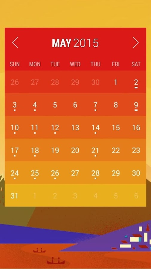 Calendar Widget: Month Screenshot 2