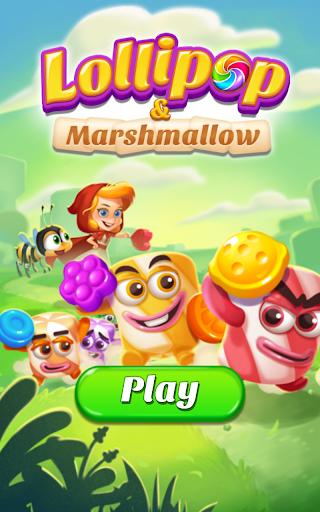 Lollipop & Marshmallow Match3 screenshot 14