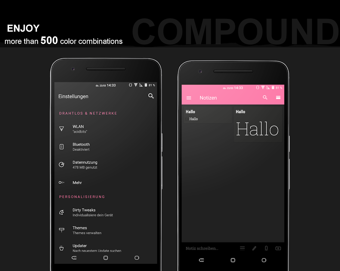 Compound for Substratum (Android Oreo/Nougat) Screenshot 13