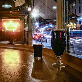 Dark Beer by Adam Lang - Food & Drink Alcohol & Drinks ( stout, beer, bar, drinks, pub )