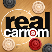 Game Real Carrom 3D : Multiplayer version 2015 APK