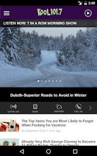 App Kool 101.7 Radio - Duluth KLDJ APK for Kindle