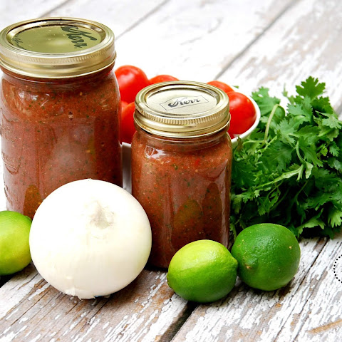 5 Minute Blender Salsa
