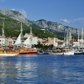 Makarska by Bojan Kolman - Transportation Boats (  )