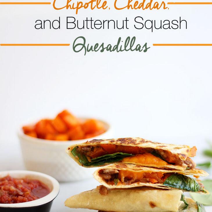 Chipotle, Cheddar, and Butternut Squash Quesadillas Recipe   Yummly