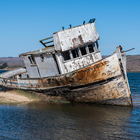 The Old Boat by Craig Turner - Transportation Boats ( beached, werck, california, pt reyes )