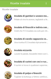 Ricette Insalate - screenshot
