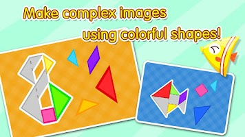 Screenshot of Creative Tangram by BabyBus