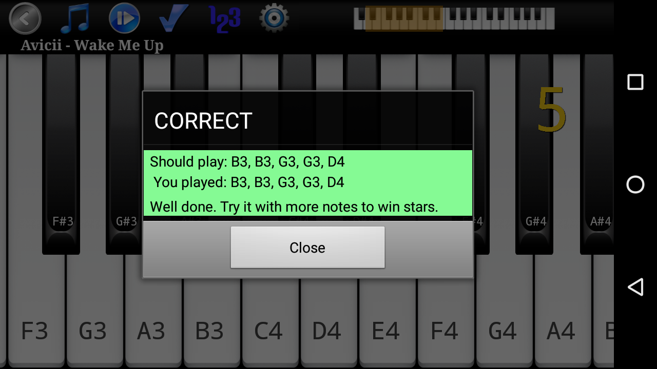 Piano Melody Pro Screenshot 2