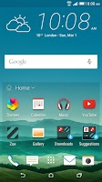 Screenshot of HTC Sense Home