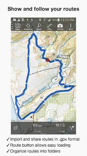 Topo GPS New Zealand - screenshot