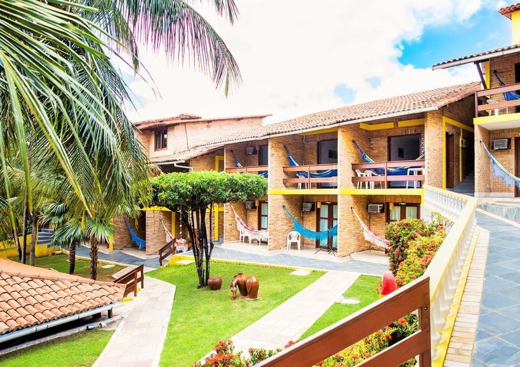 LINDO Hotel Pousada no Morro do Careca (cartão postal de Natal)