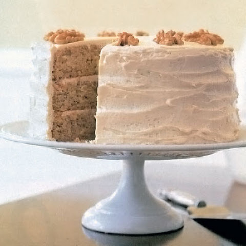New England Maple-Walnut Cake