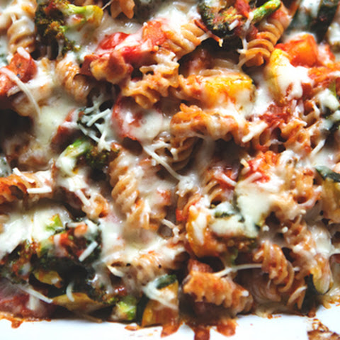 Vegetable and Cheesy Pasta Bake, Gluten-free