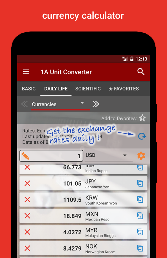 1A Unit Converter pro Screenshot 2