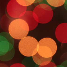 Christmas by Nick Massar - Abstract Fine Art ( lights, tree, nickolasmassar )