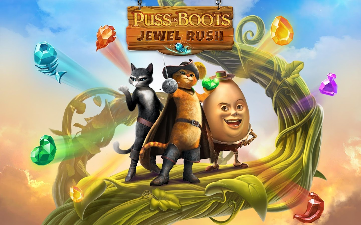 Puss In Boots Jewel Rush Screenshot 12