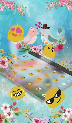 Love Birds Keyboard Theme screenshot 4
