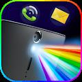 Download Color Flash Light Alert Calls APK on PC