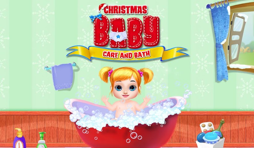 android Christmas Baby Care And Bath Screenshot 0