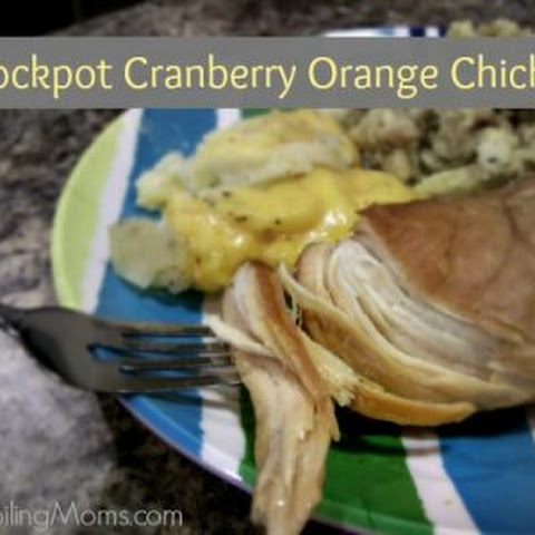 Crockpot Cranberry Orange Chicken