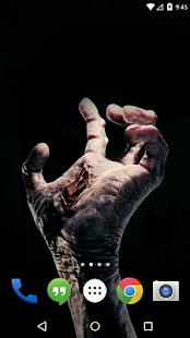 Zombie Hand Live Wallpaper - screenshot