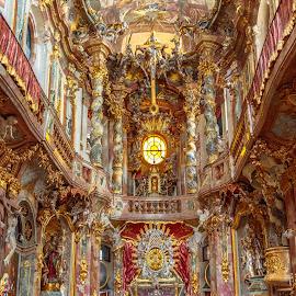 Asamkirche church, Munich by Roberto Gonzalo Romero - Buildings & Architecture Places of Worship ( munich, church, asamkirche )