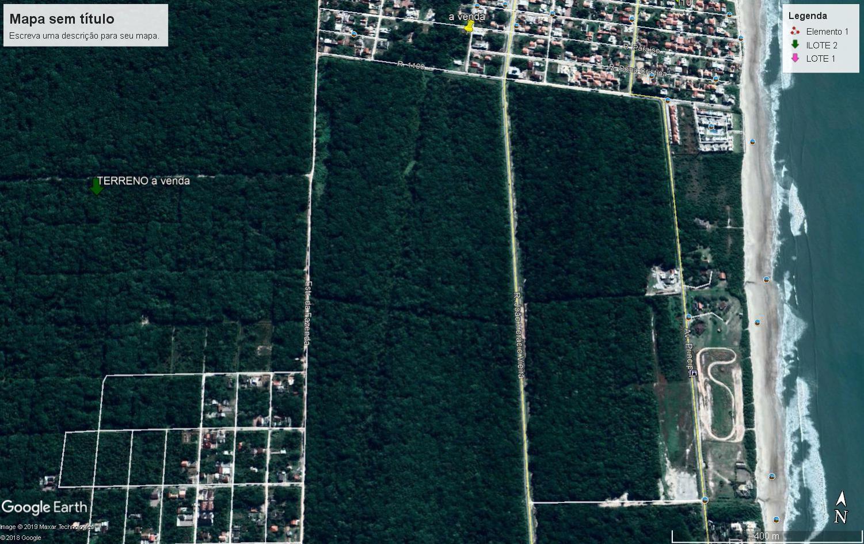 Terreno à venda, 454 m² por R$ 20.000 - Jardim Verdes Mares de Itapoá - Itapoá/SC