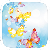 Beautiful Butterflies Theme APK for iPhone