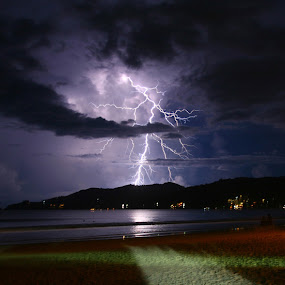 Patong Thunderbolt by Angger Bondan - Landscapes Weather