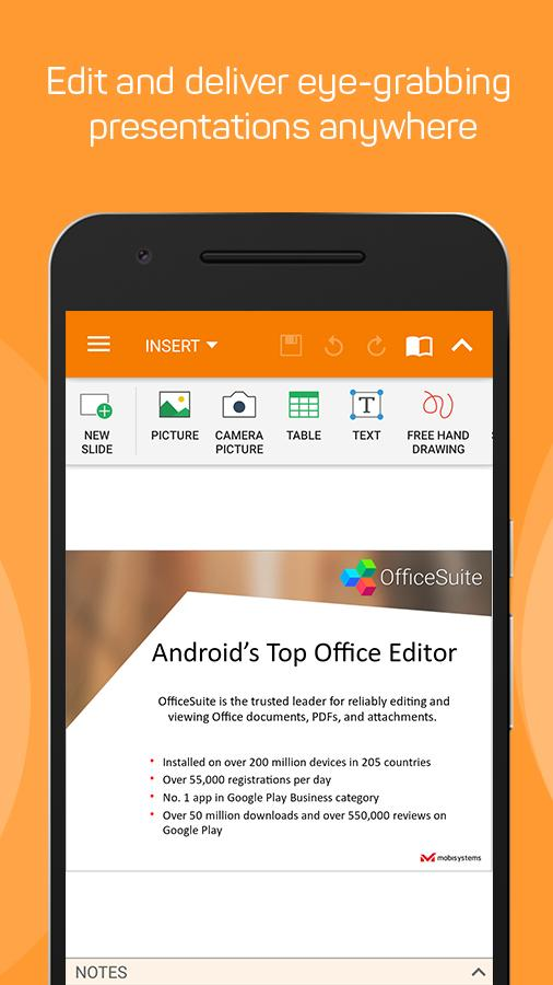 OfficeSuite + PDF Editor Screenshot 3