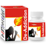 De-Addiction is a anti addiction capsule having main motive to cure addiction of drugs and alcohol in a natural way.