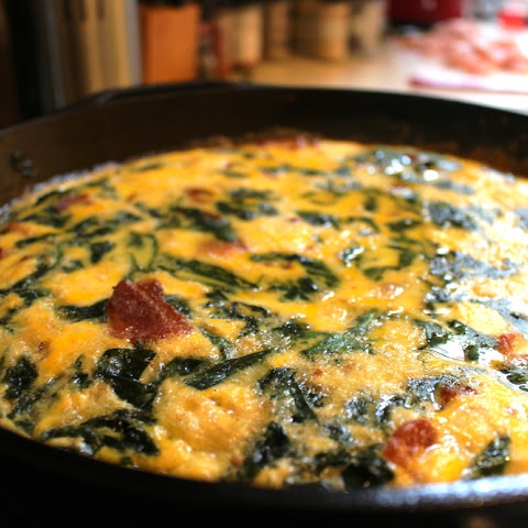 Bacon and Spinach Frittata