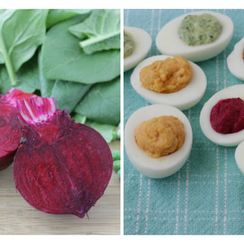 5 Ways with Veggie Deviled Eggs