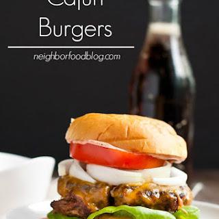 Cajun Burger Recipes