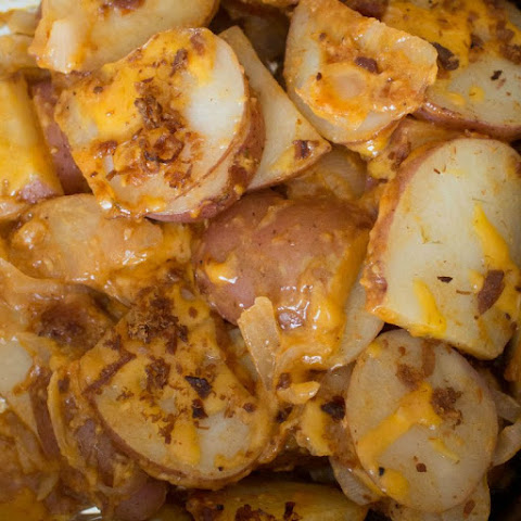 Cheddar Bacon Grilled Potatoes