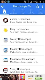 Daily Horoscope 2017 - screenshot