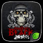 App Black Night GO Keyboard Theme version 2015 APK