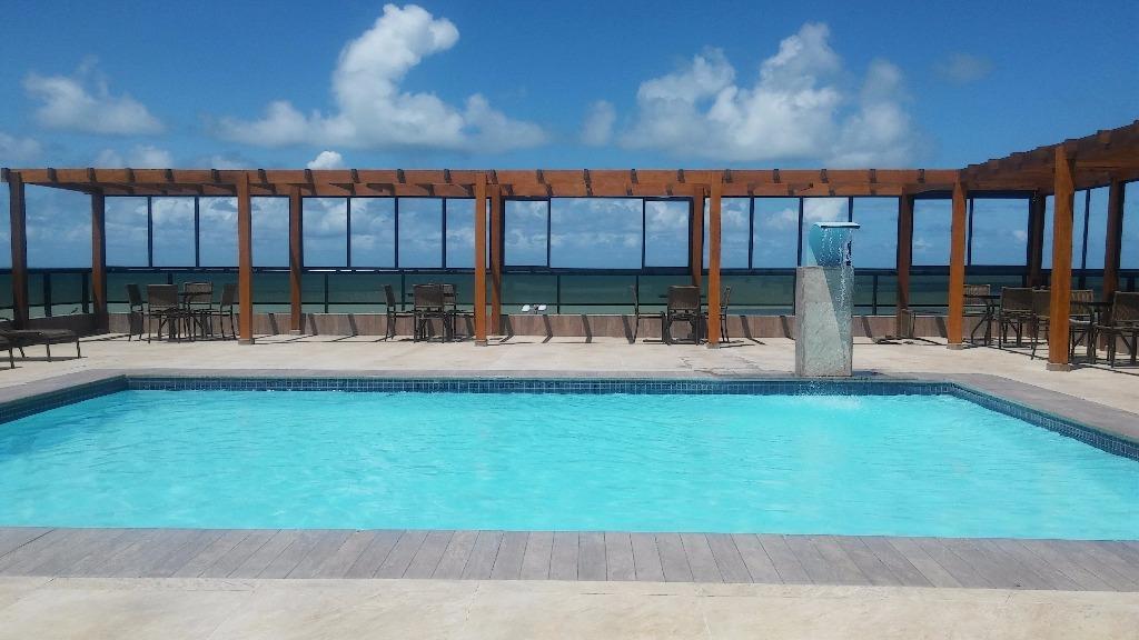 Flat com 1 dormitório à venda, 35 m² por R$ 220.000 - Cabo B