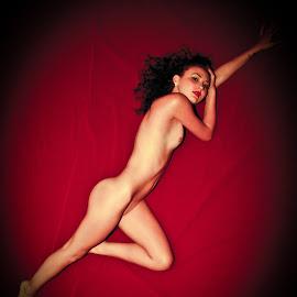 Marilyn Inspired by Matthew Chambers - Nudes & Boudoir Artistic Nude ( nude, marilyn, monroe, thin, brunette )