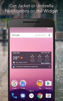 AccuWeather Platinum APK screenshot thumbnail 4