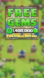 App Gems for Clash Royale Prank APK for Kindle