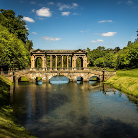 Prior Park bridge by Mandy Hedley - Landscapes Travel ( park, bath, bridge, palladian, prior )