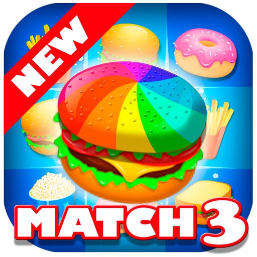 Match 3 Burgers - Connect Food Puzzle Game (game)