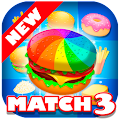 Game Burger Match 3 HD 2017 - Connect Food Puzzle Game APK for Windows Phone