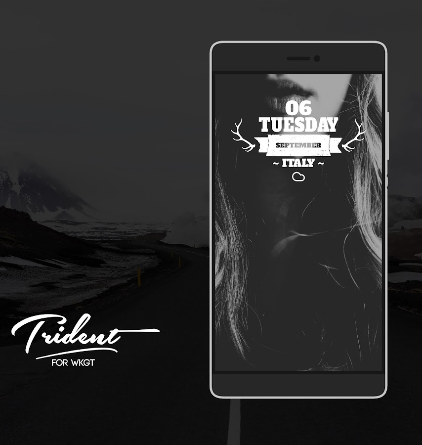 Trident for KWGT Screenshot 0