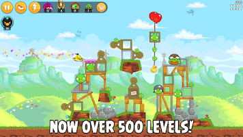 Screenshot of Angry Birds