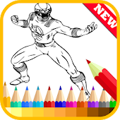 App Coloring Book Hero Rangers apk for kindle fire