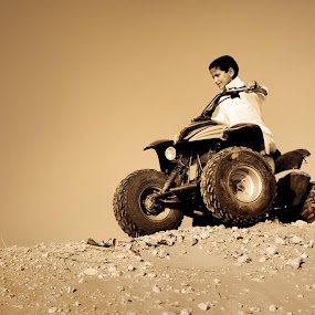 I AM RIDER by Salden Toy Eltagonde - Sports & Fitness Other Sports ( rider, atv car, top rider, boy, desert rider )
